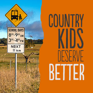 There's much to love about country life: fresh air and wide-open spaces; close-knit communities and that certain breed of hospitality found only in a country pub. But if you're a young person living in a regional, rural or remote area, life can be less idyllic when it comes to education. In fact, young people living in the country are amongst Australia's most disadvantaged when it comes to further education and training.