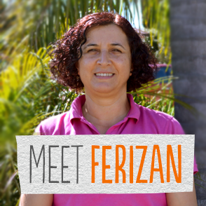 Thanks to a scholarship from the Origin Foundation, Ferizan is studying for a degree in Bachelor of Early Childhood Studies through Charles Sturt University.