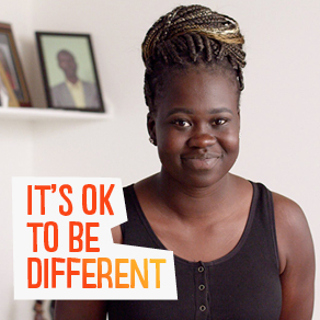 Mariam Ajang wishes she was more comfortable being herself when she was younger.