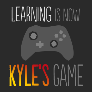 Kyle was going nowhere at school. He couldn't see the point. An introvert, he hid behind long hair and his beloved computer screen, where he could do what he really enjoyed - gaming.