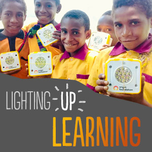 All around Australia Origin volunteers and school children are coming together to make solar-powered lights for PNG communities living in energy poverty.